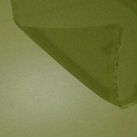 Tessuto tinta unita georgette colore verde acido