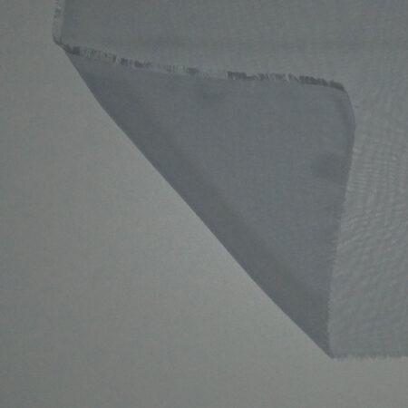 Tessuto tinta unita georgette colore grigio perla