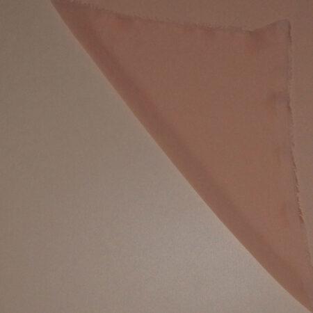 Tessuto tinta unita georgette colore rosa albicocca