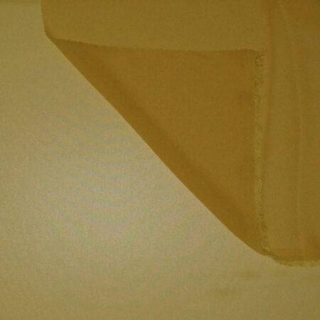 Tessuto tinta unita georgette colore giallo