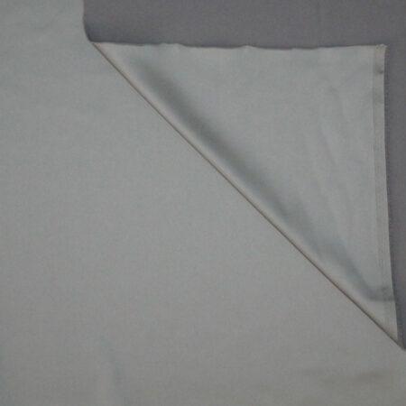 Tessuto tinta unita satin raso stretch colore grigio