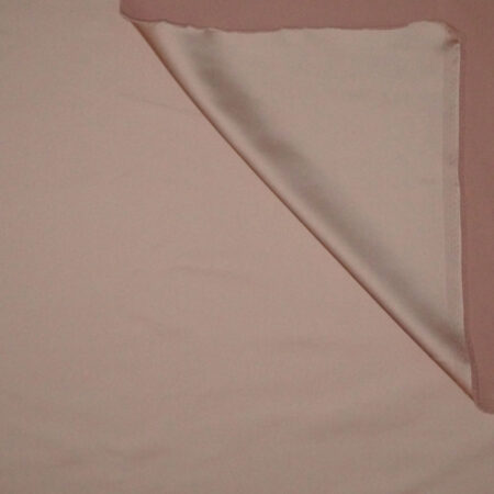 Tessuto tinta unita satin raso stretch colore rosa cipria