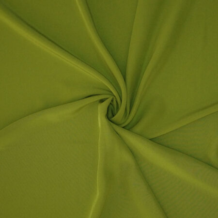 Tessuto tinta unita cady colore verde acido