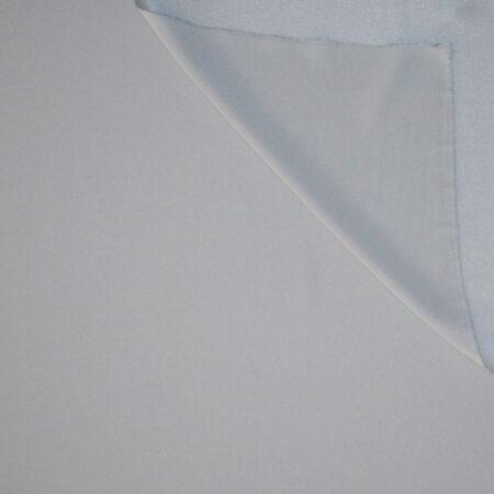 Tessuto tinta unita cady colore grigio perla