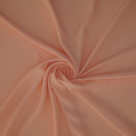Tessuto tinta unita cady colore rosa albicocca