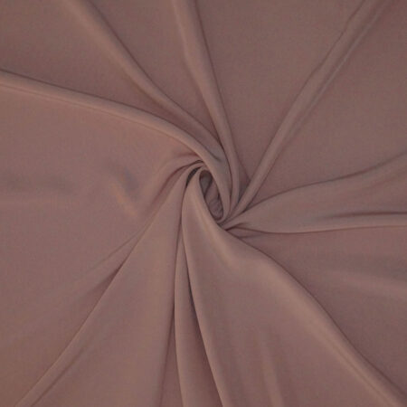Tessuto tinta unita cady colore rosa cipria