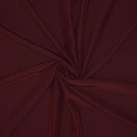 Tessuto tinta unita cady colore bordeaux