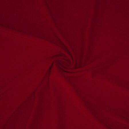 Tessuto tinta unita cady colore rosso