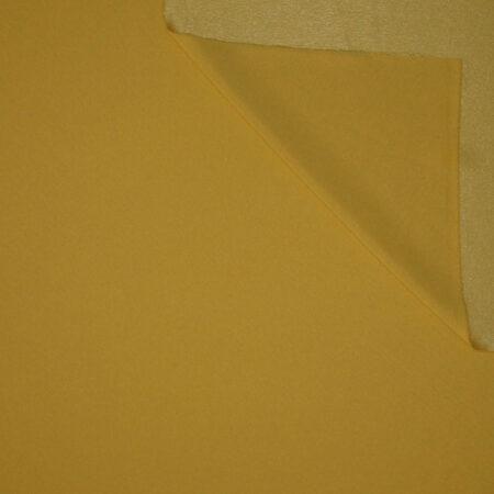 Tessuto tinta unita cady colore giallo