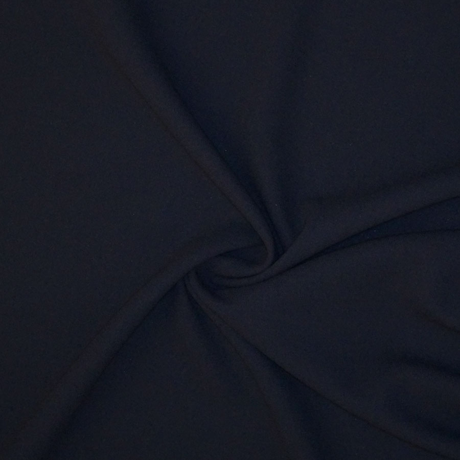Double crepe Pura Lana – blu navy