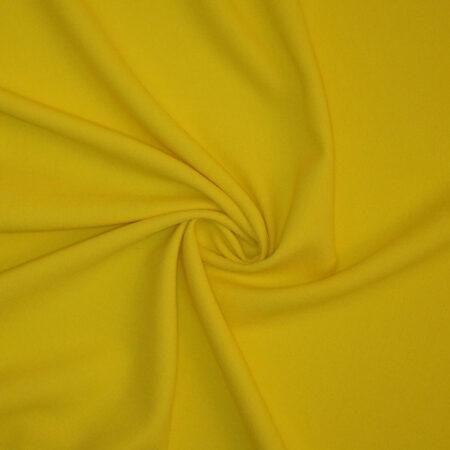 Double crepe giallo