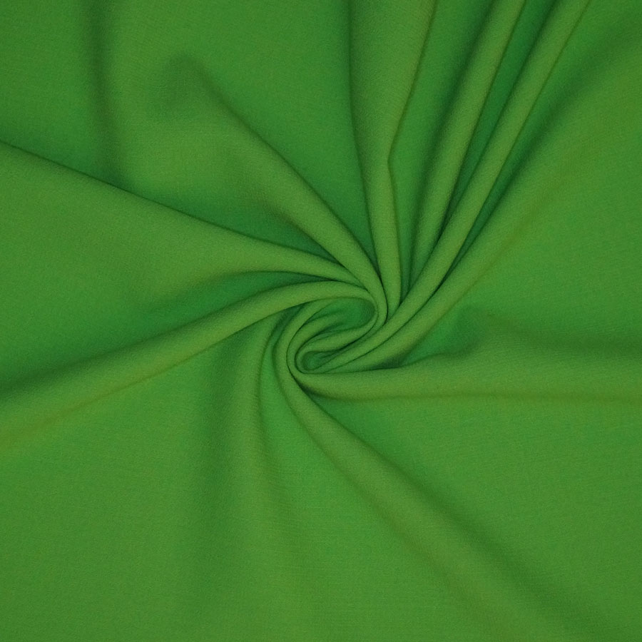Double crepe Pura Lana – verde fluo