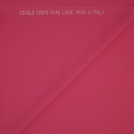 Double crepe rosa fluo