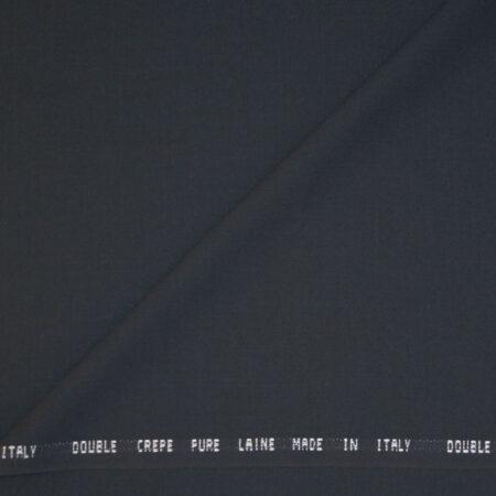 Double crepe grigio canna di fucile