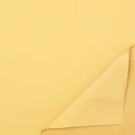 cotone stretch giallo zafferano