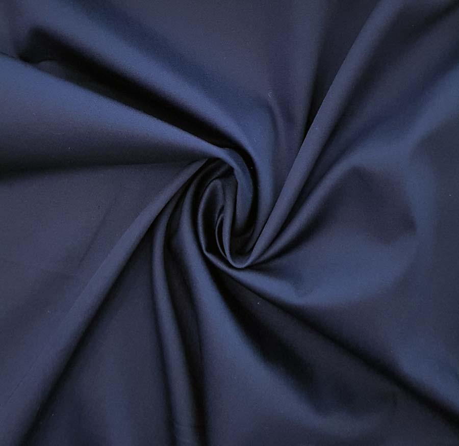 Cotone stretch – blu inchiostro