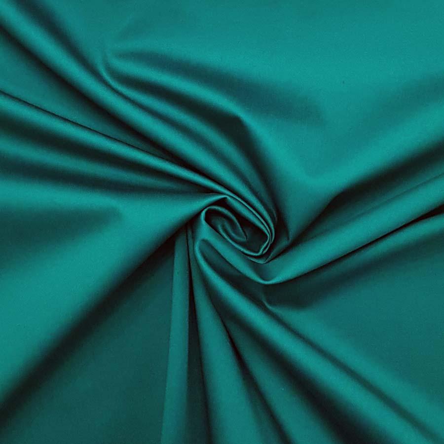 cotone stretch verde smeraldo