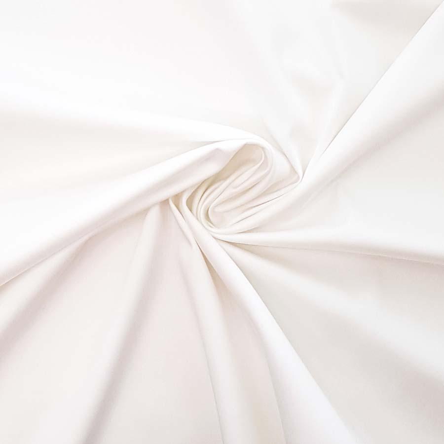 Cotone stretch – bianco