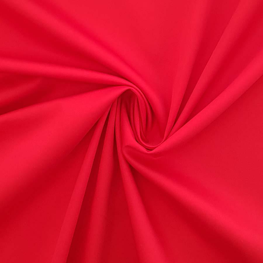 cotone stretch rosso