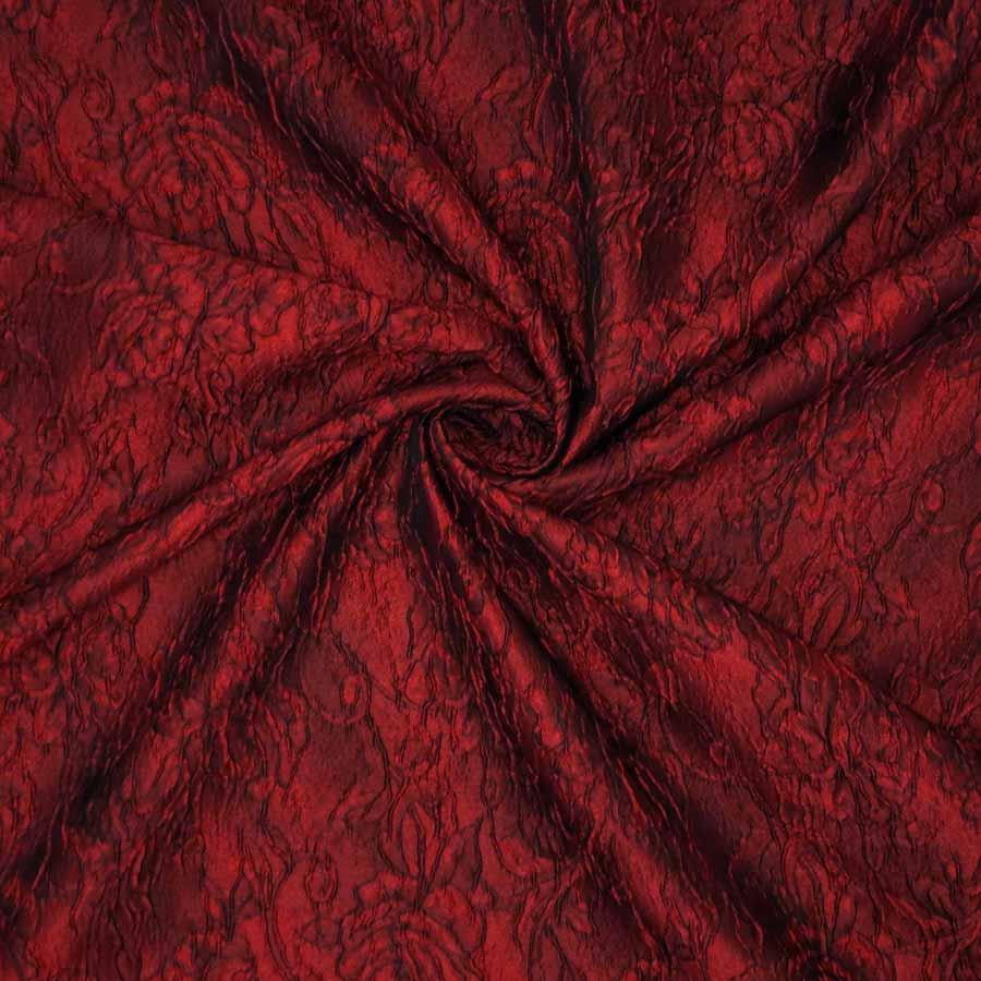 broccato jacquard rosso