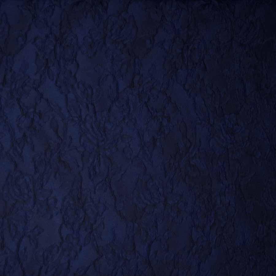 broccato jacquard blu scuro