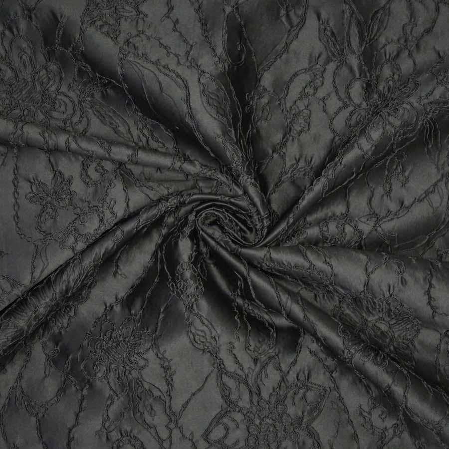 broccato jacquard grigio scuro