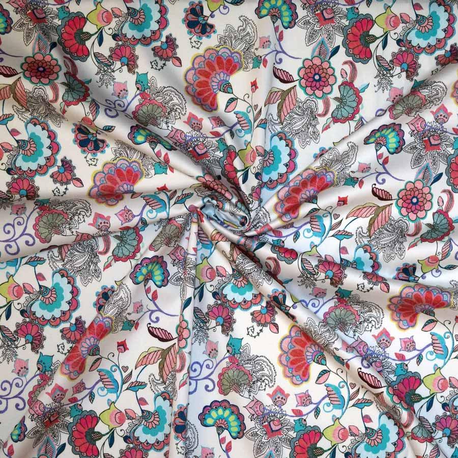 Cotone fiori multicolor