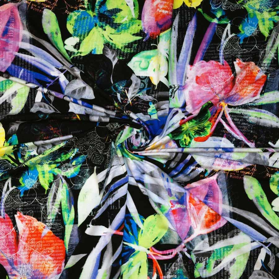 jersey nero farfalle