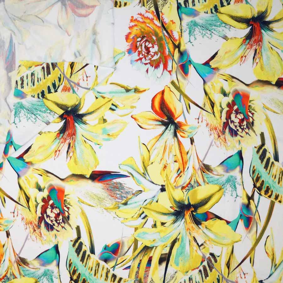 jersey fiori giallo