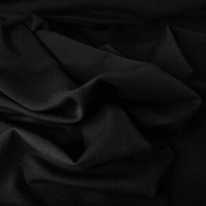 Gabardine mano lana – nero