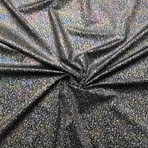 Velluto stretch stampa cangiante