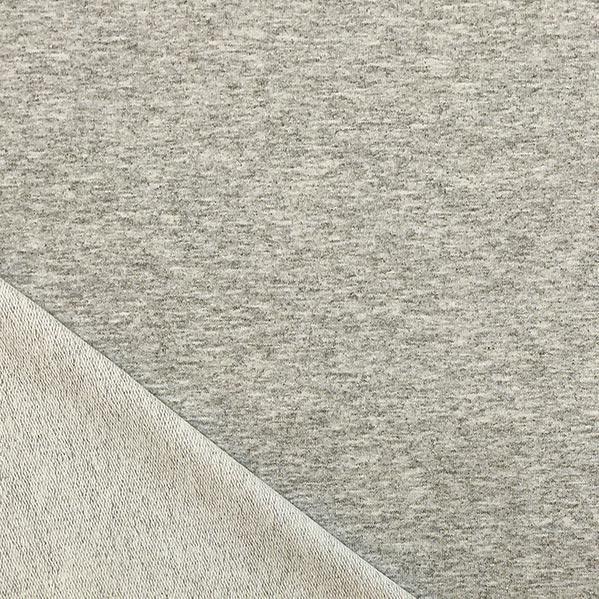 Felpa grigio chiaro melange