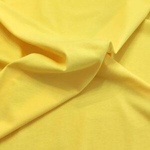 Jersey di cotone giallo