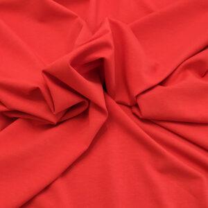 Jersey di cotone rosso