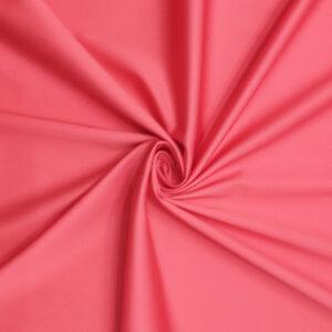 Rasatello cotone stretch rosso corallo