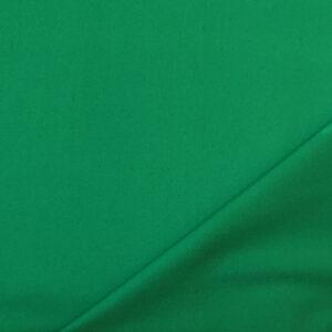 Rasatello cotone stretch verde