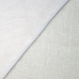 Tela puro lino bianco