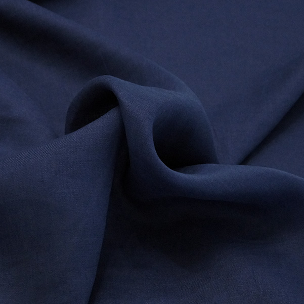 Tela puro lino blu