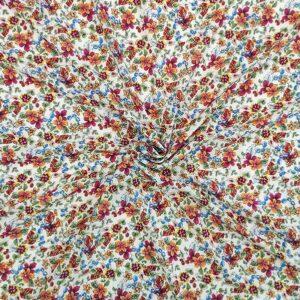Voile viscosa stampa fiori piccoli