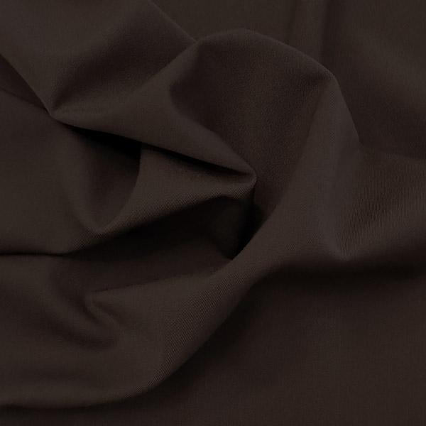 Gabardine mano lana marrone