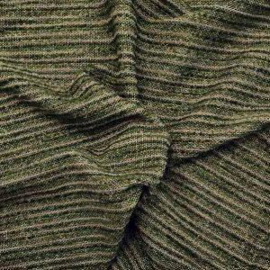 Tessuto misto lana toni verde