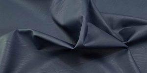 ecopelle stretch blu