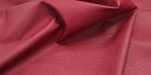 ecopelle stretch rosso