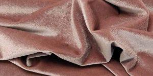 velluto liscio stretch rosa